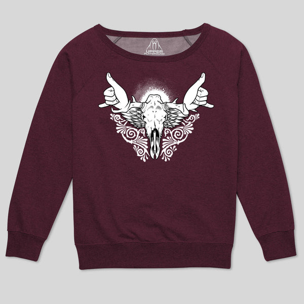 5S - HANG MOOSE WOMEN'S SWEATSHIRT