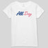 ALL DAY AMERICA - WOMEN'S CREW TEE