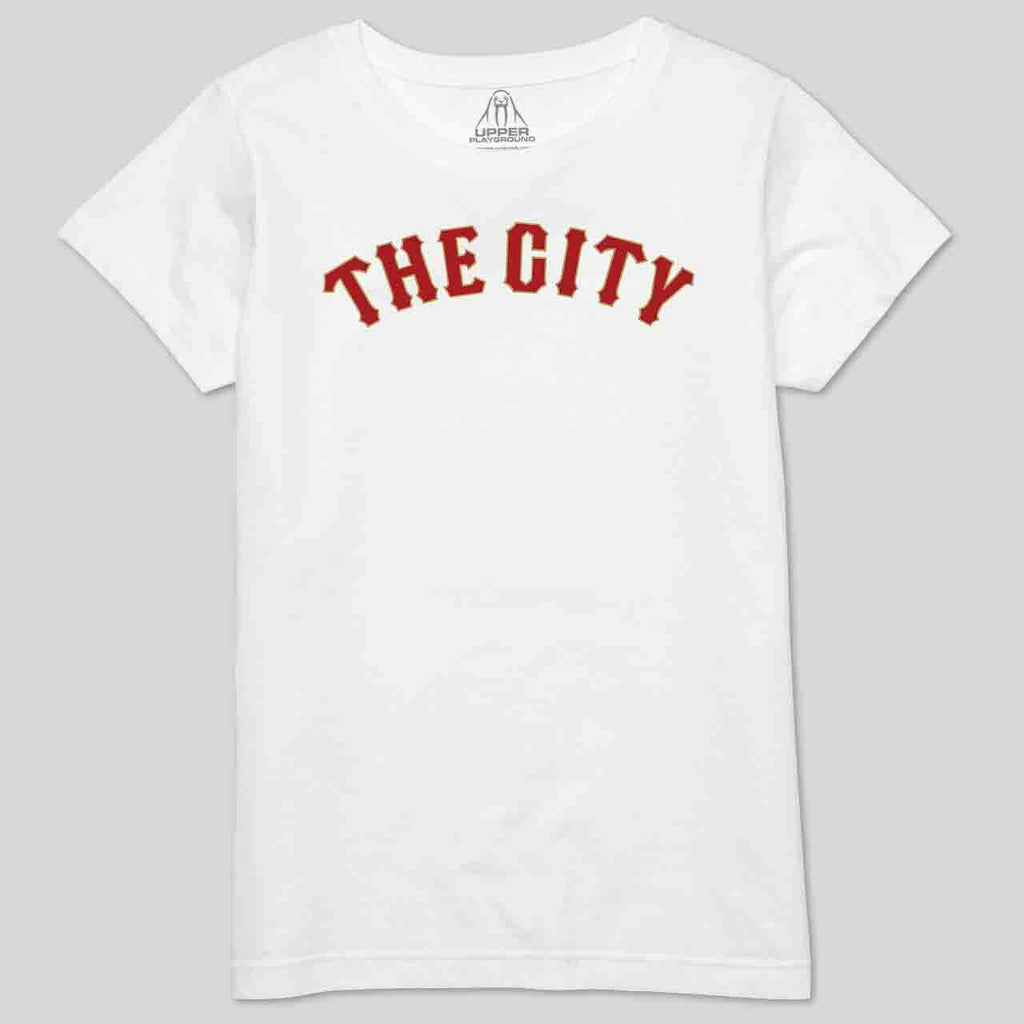 5S - THE CITY IN GOLD & RED - WOMEN'S TEE