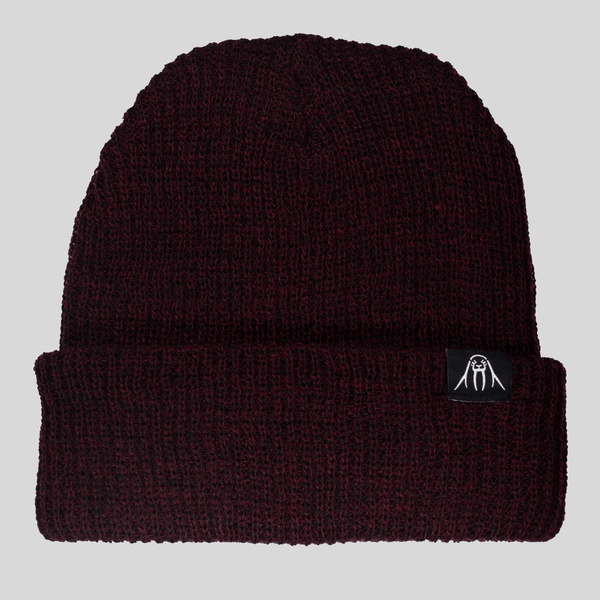 Upper Playground - Lux - UP Cuff Beanie in Maroon