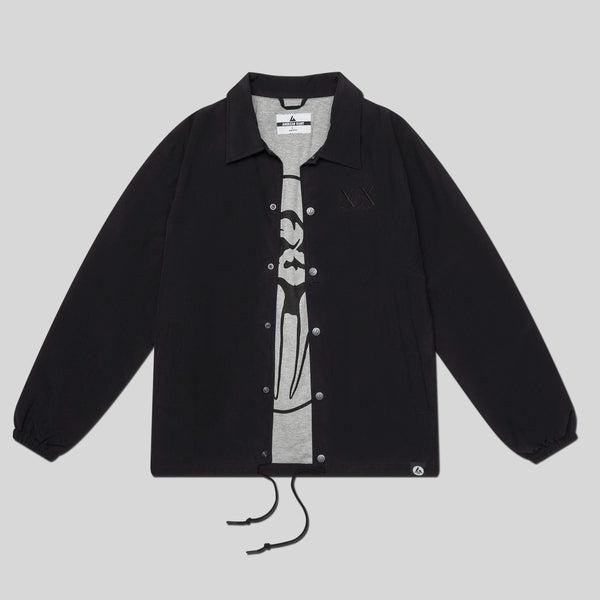 Upper Playground - Lux - UP x AG Coaches Jacket in Black