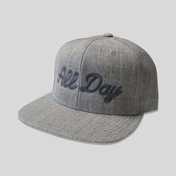 Upper Playground - Lux - All Day Snapback in Heather/Gray