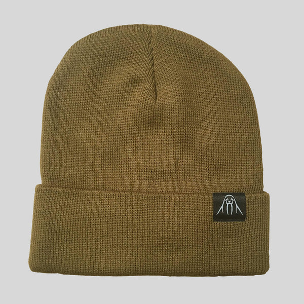 Upper Playground - Lux - The Watch Cap Cuff Beanie in Coyote Brown