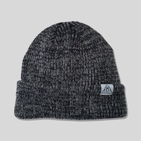 Upper Playground - Lux - The Gusty Beanie in Black Marl