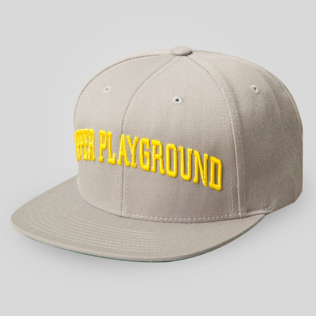 Upper Playground - Lux - DARTMOUTH SNAPBACK CAP IN GREY