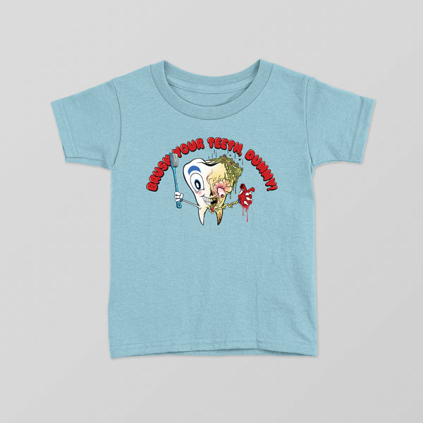 5S - BRUSH YOUR TEETH TODDLER TEE
