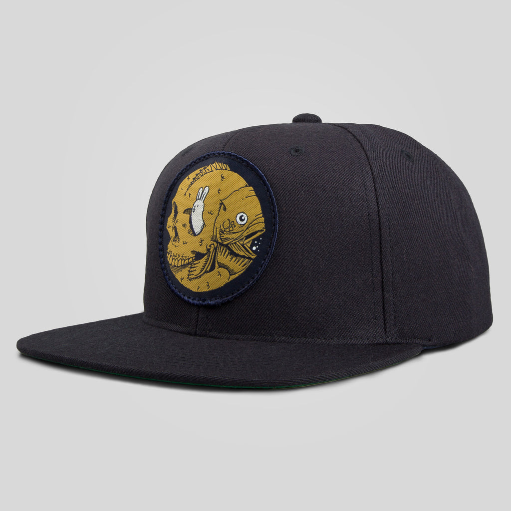 Upper Playground - Fish Factory Snapback by Jeremy Fish