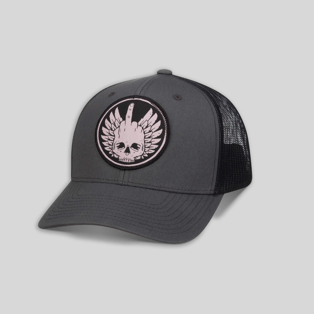 topshelf - F*ckhead Two-Tone Trucker Cap by Jeremy Fish