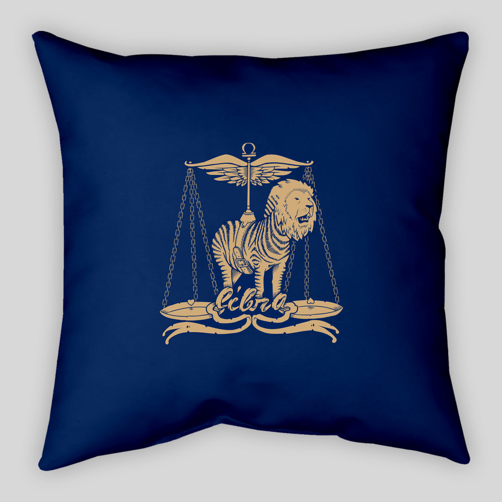 MWW - Libra Pillow by Jeremy Fish