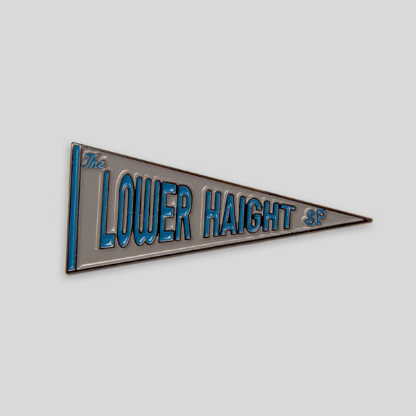 Upper Playground - Lux - The Lower Haight Pennant Pin