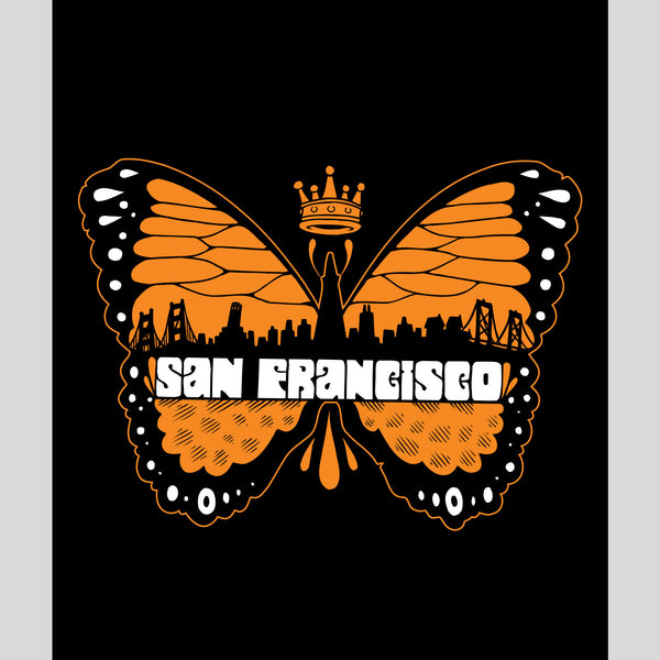 twelve-grain - SF Butterfly Print by Jeremy Fish