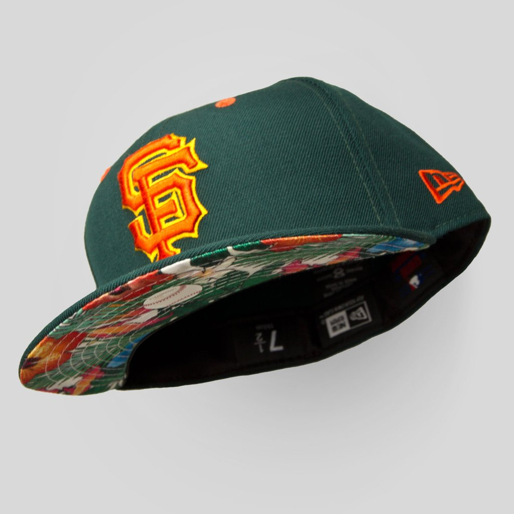 Upper Playground - Lux - SF GIANTS NEW ERA FITTED CAP IN FOREST GREEN AND  JUNGLE ... fa54d78e3ad