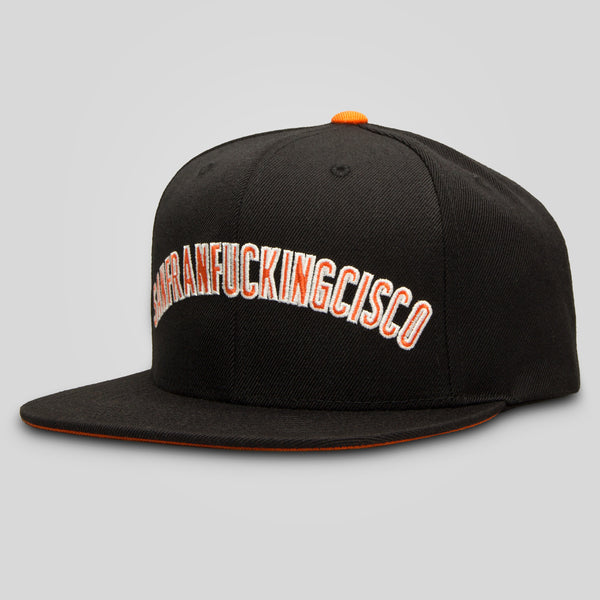 Upper Playground - San Franfuckingcisco Starter Cap by Bly-Fordham