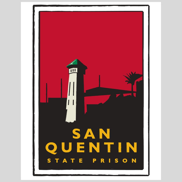 Upper Playground - Lux - San Quentin Print by Dustin Canalin