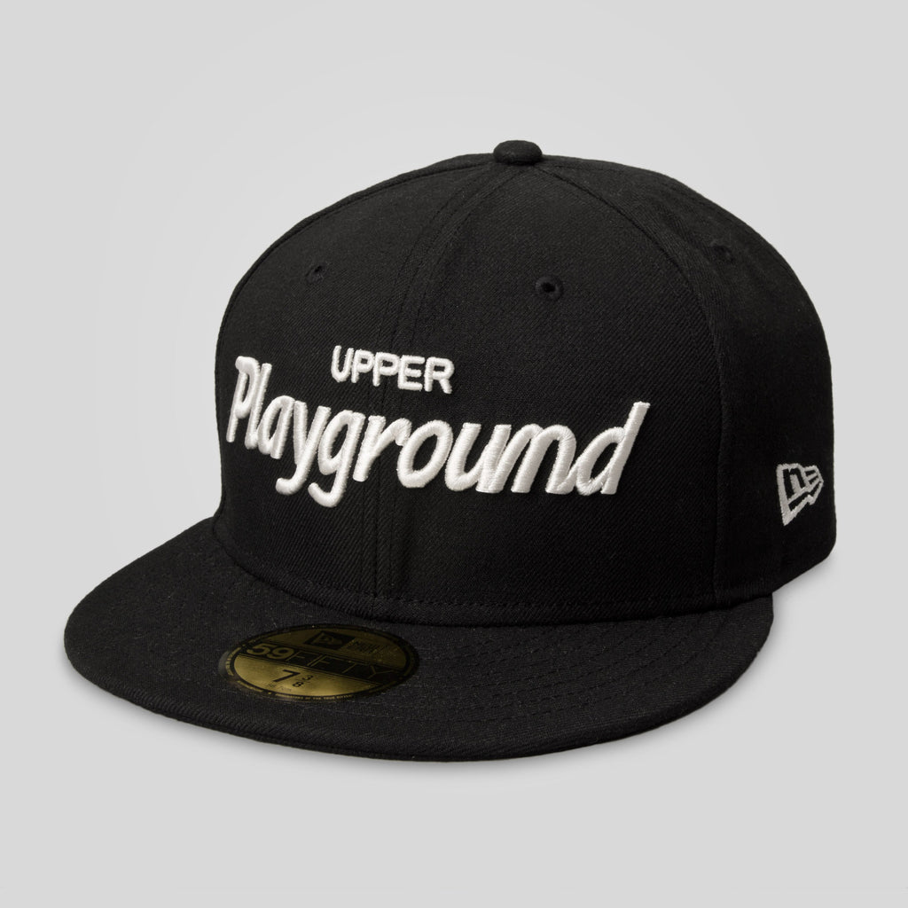 Upper Playground - Lux - UP Script New Era Fitted Cap