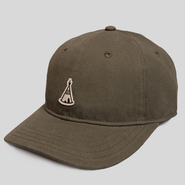 Upper Playground - Sleepy Teepee Dad Hat by Jeremy Fish