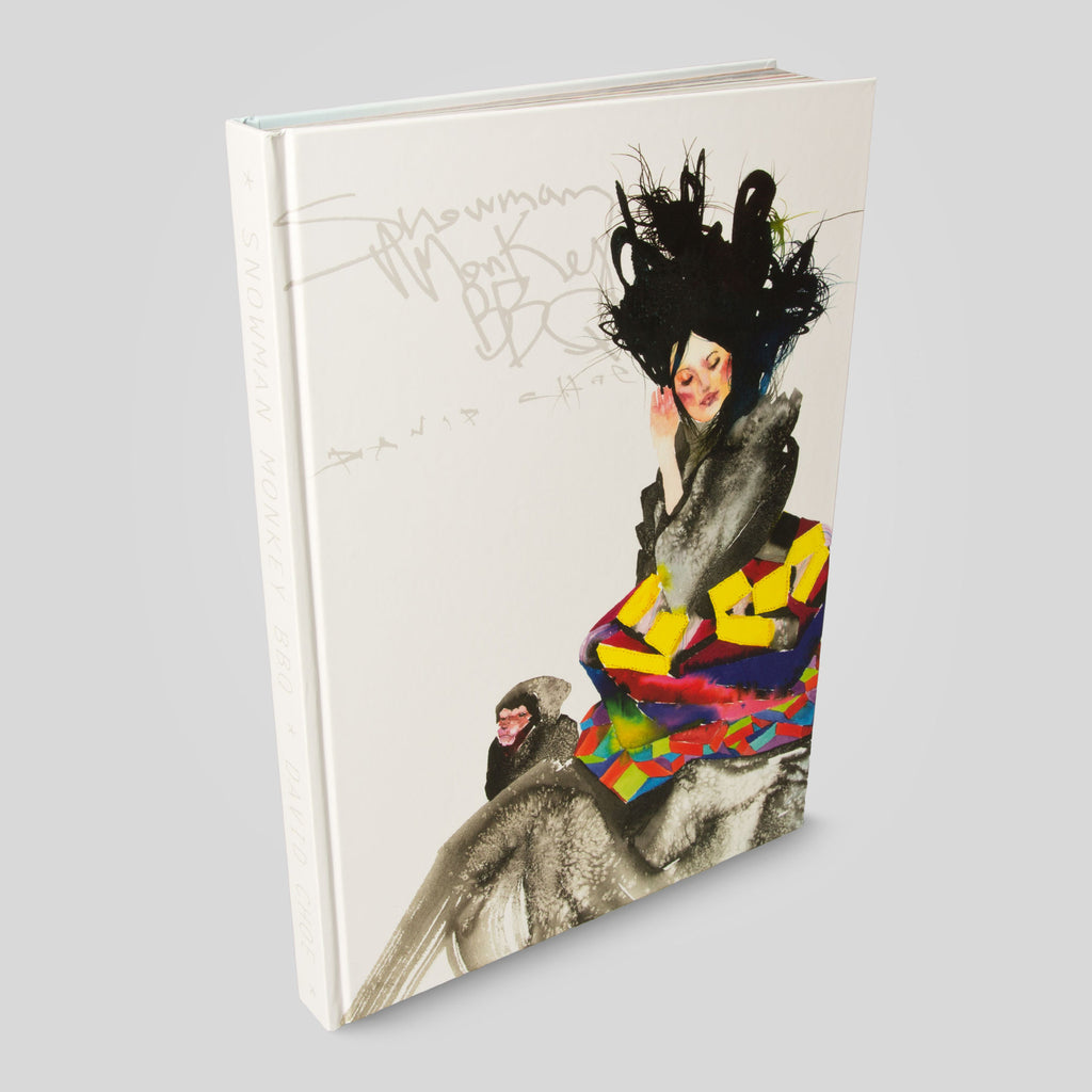 David Choe - Snowman Monkey BBQ Book By David Choe