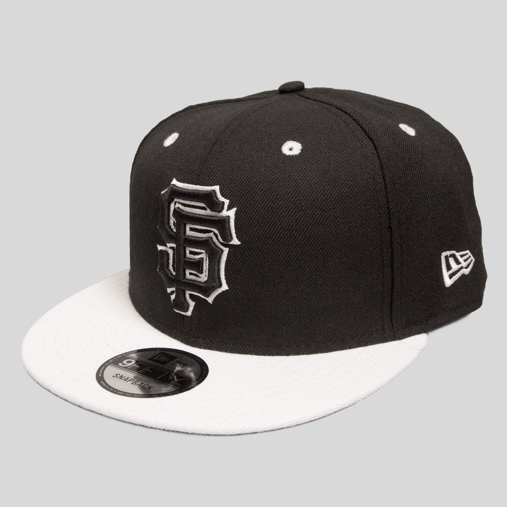 Upper Playground - Lux - SF Giants New Era Snapback in SOMA Black & White