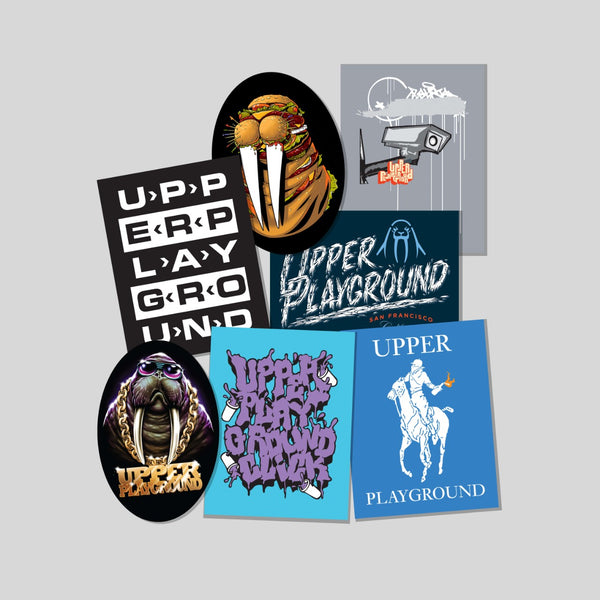 Upper Playground - Lux - Sticker Pack