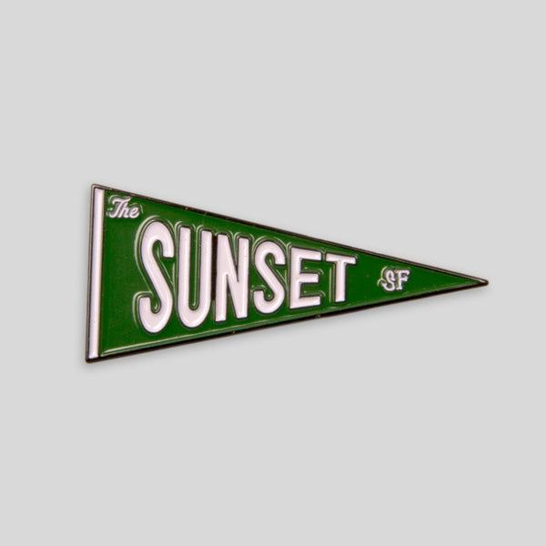 Upper Playground - Lux - The Sunset Pennant Pin