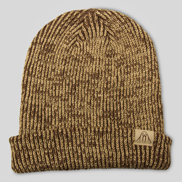 Upper Playground - The Gusty Beanie in Brown Marl