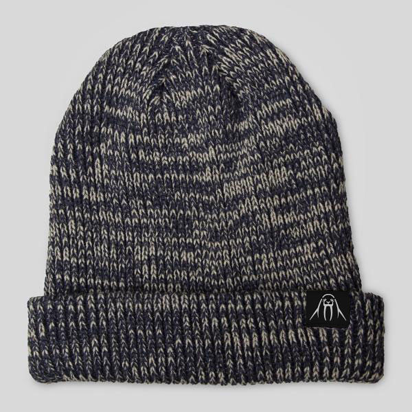 Upper Playground - The Gusty Beanie in Navy Marl