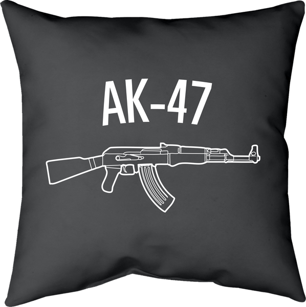 MWW - AK-47 Pillow by Upper Playground
