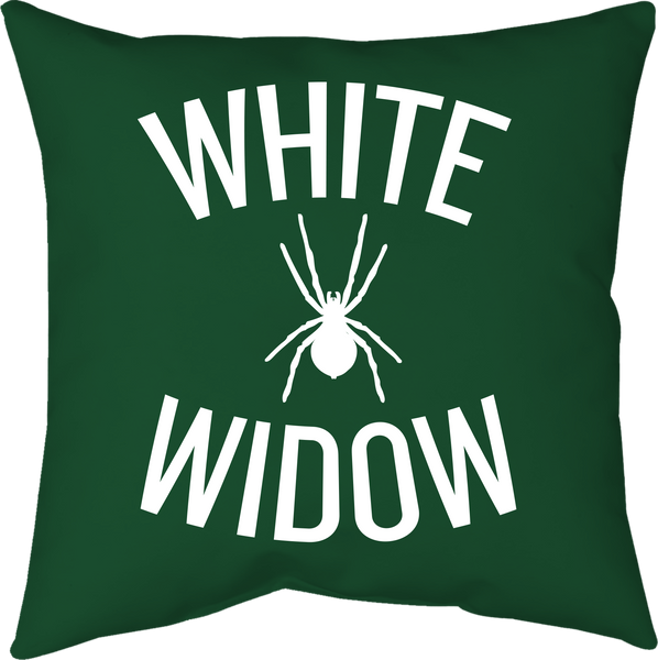 MWW - White Widow Pillow by Upper Playground