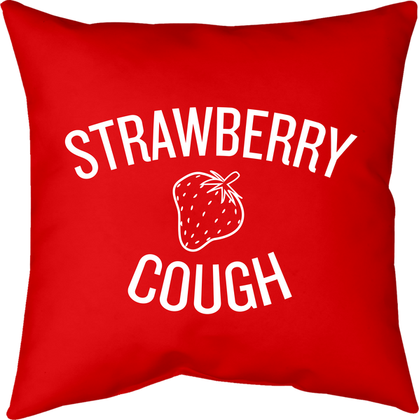 MWW - Strawberry Cough Pillow by Upper Playground