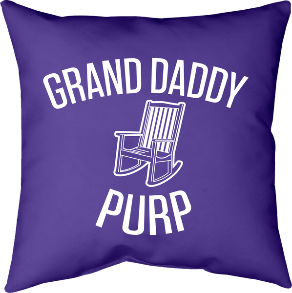 MWW - Grand Daddy Purp Pillow by Upper Playground