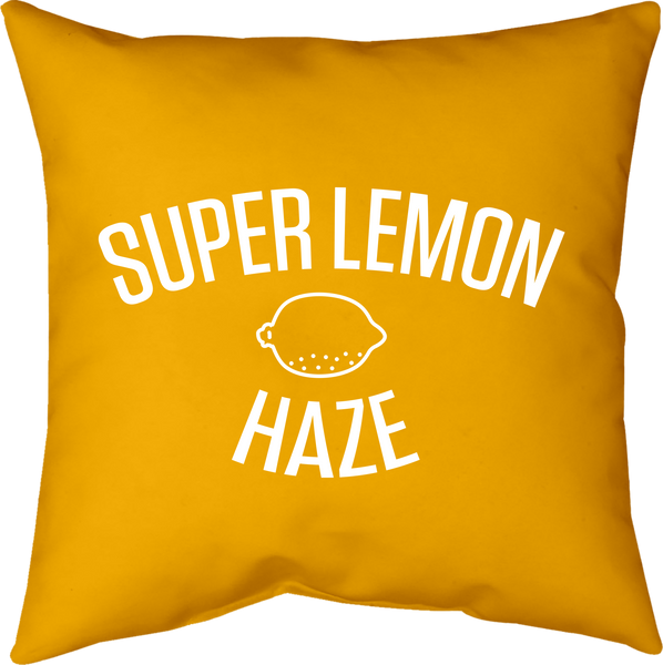 MWW - Super Lemon Haze Pillow by Upper Playground