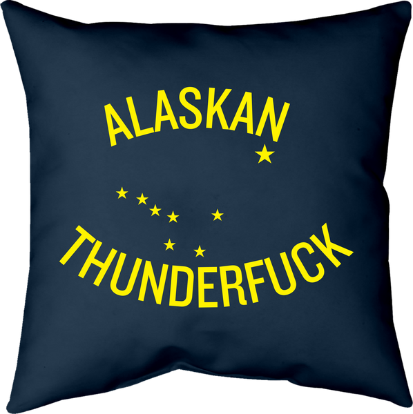 MWW - Alaskan Thunderfuck Pillow by Upper Playground