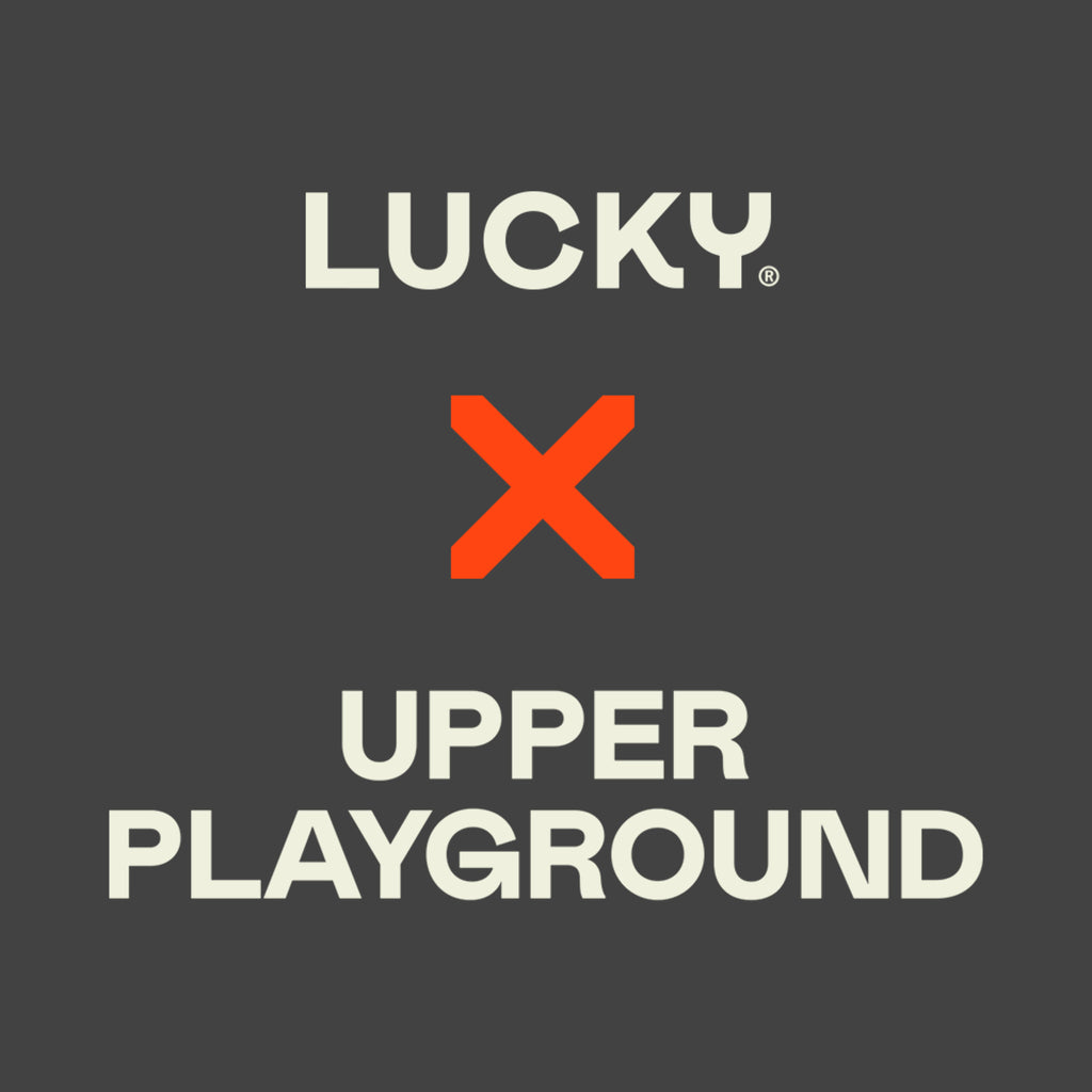 5S - LUCKY X UPPER PLAYGROUND - BLACK