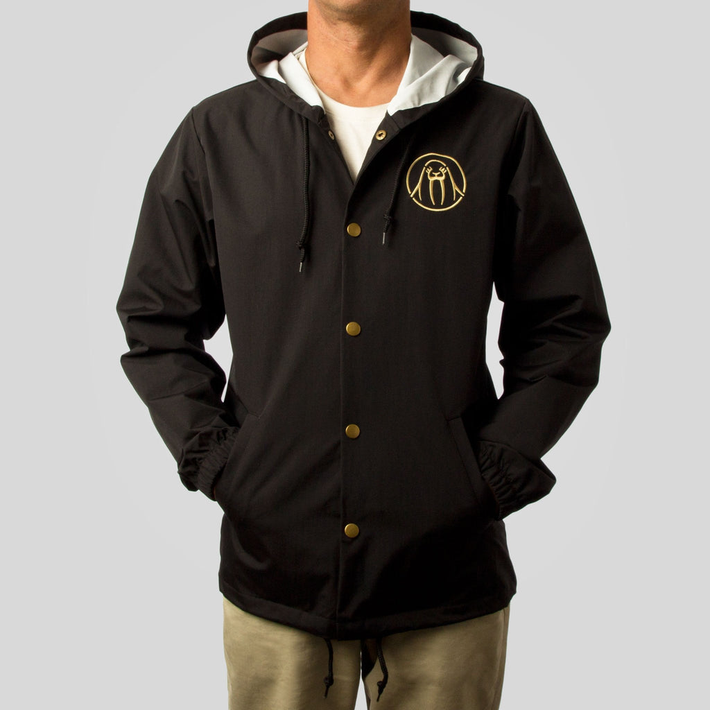 Upper Playground - Splash Brothers Jacket in Black