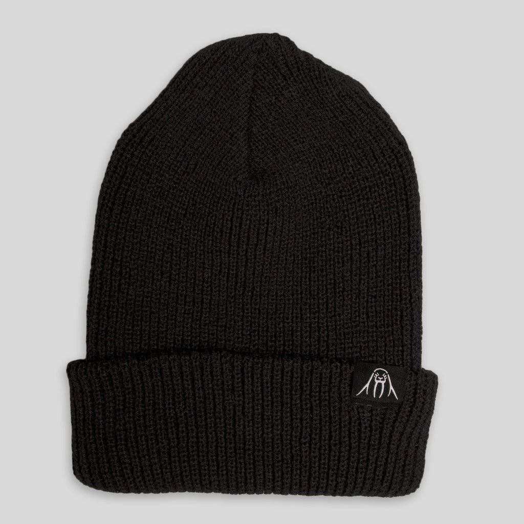 Upper Playground - Lux - Walrus Cuff Beanie in Black