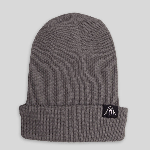 Upper Playground - Lux - Walrus Cuff Beanie in Gray