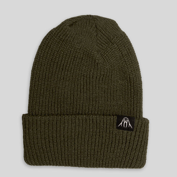 Upper Playground - Walrus Cuff Beanie in Green