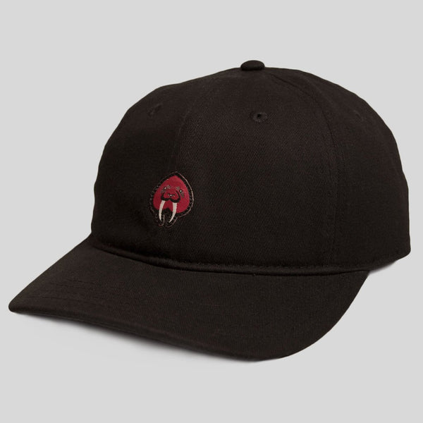 Upper Playground - Lux - Walrus Love Dad Hat in Black by Jeremy Fish