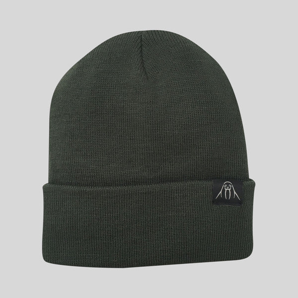 Upper Playground - Lux - The Watch Cap Cuff Beanie in Olive