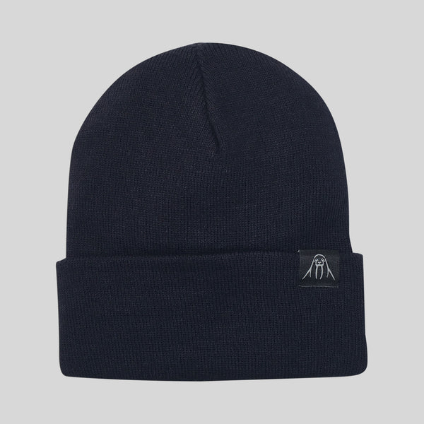Upper Playground - Lux - The Watch Cap Cuff Beanie in Navy