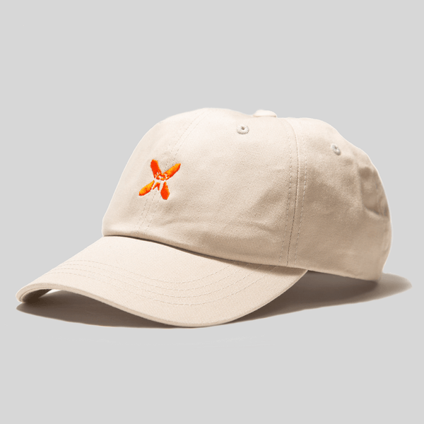 Upper Playground - Lux - NEW! X-Eyes Front Dad Hat in Khaki