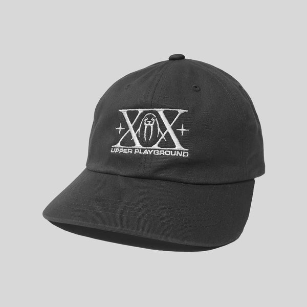 Upper Playground - Lux - XX 20th Anniversary Dad Hat in White/Charcoal