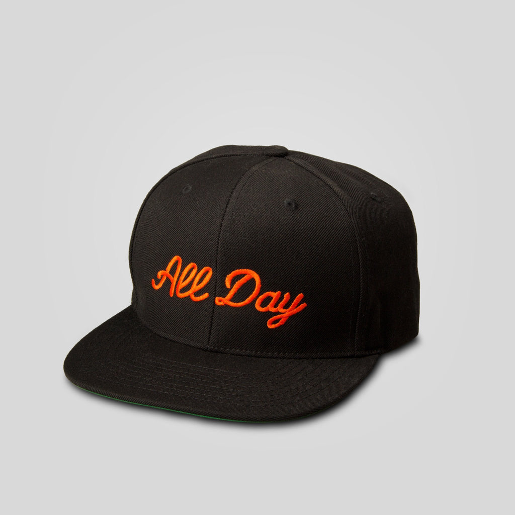 Upper Playground - All Day Snapback in Black