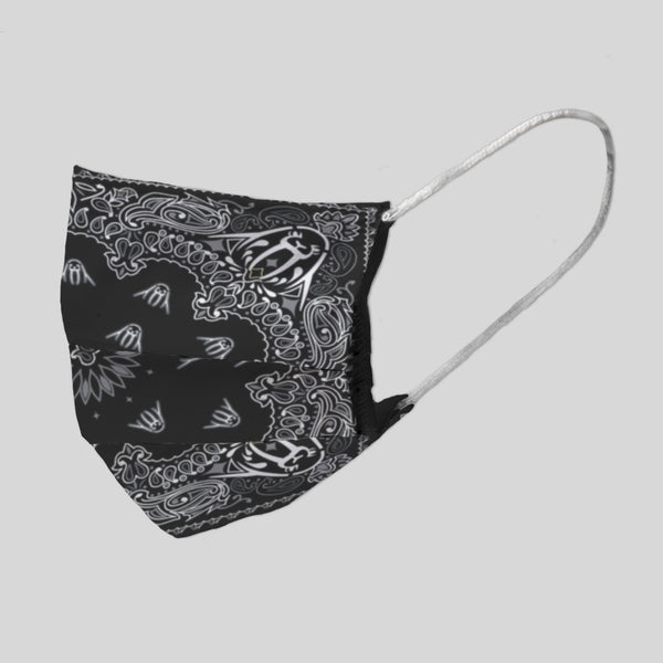 MWW - UP BANDANA IN BLACK FACE MASK