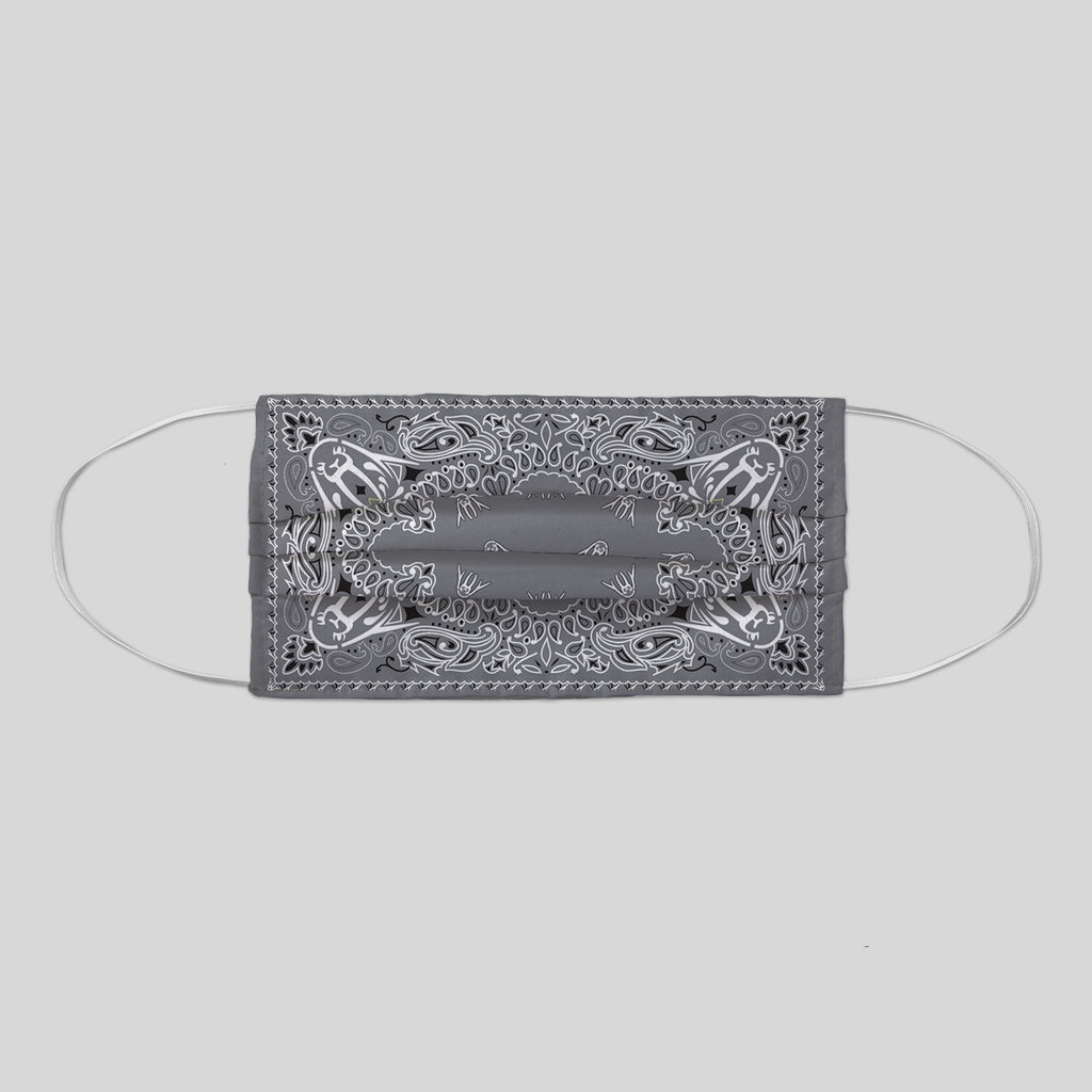 MWW - UP BANDANA IN GREY FACE MASK
