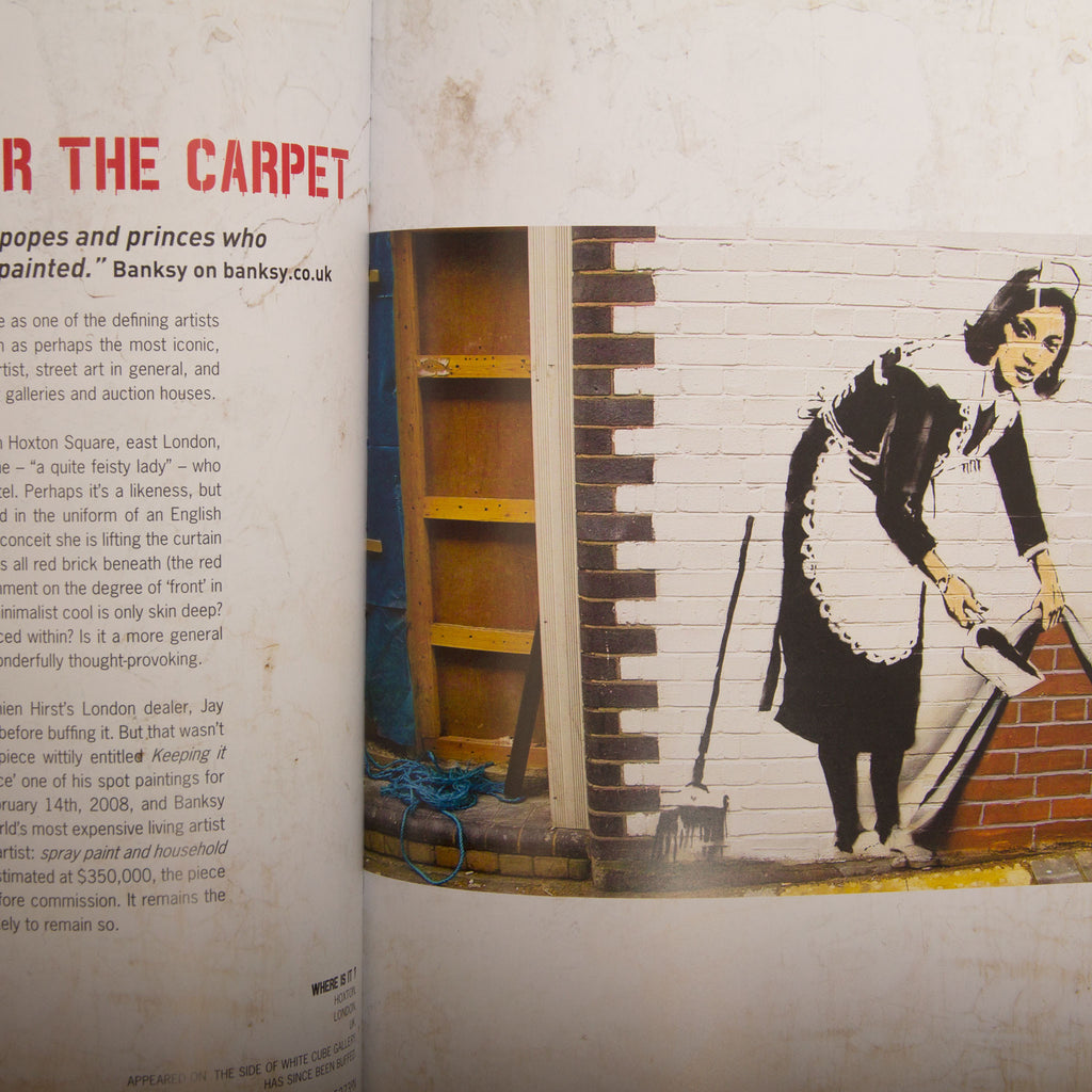 Upper Playground - Lux - Where's Banksy? Banksy's Greatest Works in Context