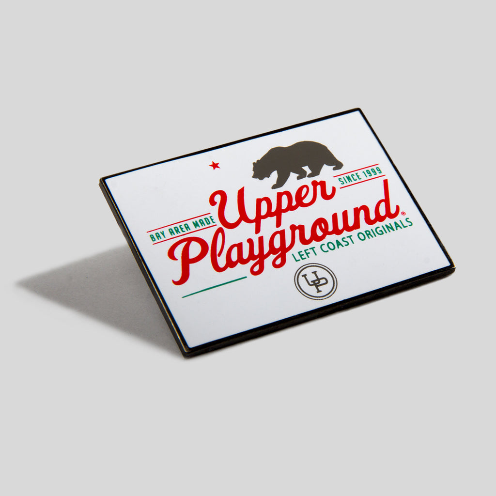 Upper Playground - Lux - Bay Area Made Enamel Pin