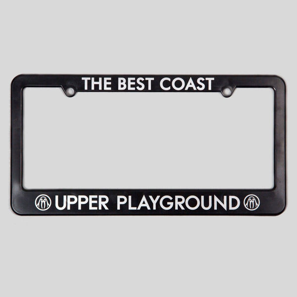 Upper Playground - Lux - BEST COAST License Plate Frame