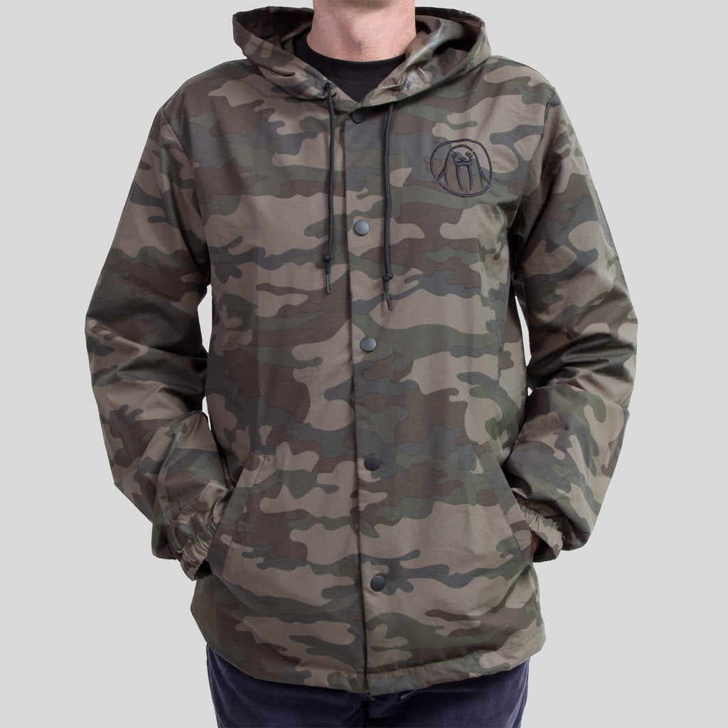 Upper Playground - Lux - Splash Brothers Jacket in Camo