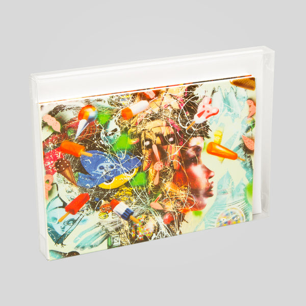 David Choe - Assorted Greeting Card Pack 2 by David Choe